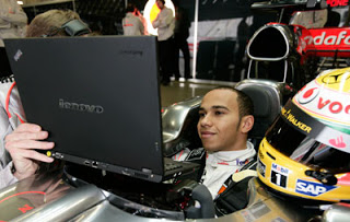Lenovo Formula 1 X300 Hamilton