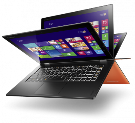 Lenovo Yoga 2 Pro_Orange_Hero_Backlit keyboard_06