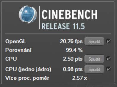 Cnebench 11.5