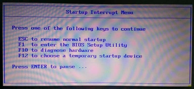 Vstup do BIOSu, boot menu a obnovy systému na noteboocích Lenovo